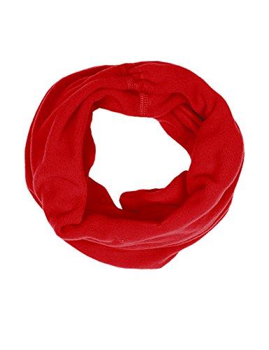 maximo Mädchen Multifunktionstuch Halstuch, Rot (Rot 2), 2