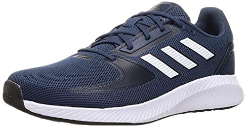 adidas RUNFALCON 2.0, Zapatillas de Running Hombre, NEGBÁS/Rojsol/Dorsol, 44 EU