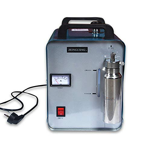 Soldador de oxígeno e hidrógeno H160 Oxy, generador de hidrógeno con llamas acrílicas, pulidoras HHO, 75 l/h, 300 W