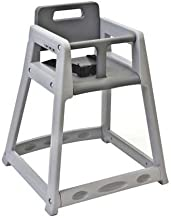 product image for Plastic High Chair, Unssbld Gry