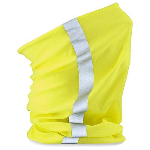 Beechfield - Foulard - Homme taille unique - Jaune - Flouorescent Yellow - Taille unique