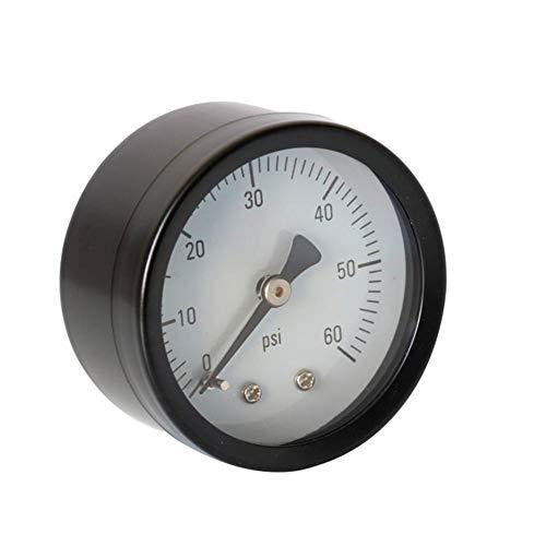 Kapokilly Y50 Axial Manometer, Hochwertige Manometer Öldruckanzeige Gasdruckmessgerät, Wasser-, Öl-, Gasdruckmessgerät
