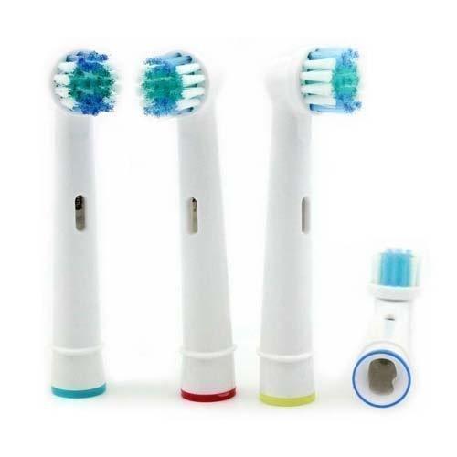Panaaz - 8 Stück Von Ersatz Elektrische Zahnbürste Köpfe Kompatibel Für Oral B Braun SB-17A