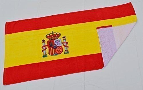 Toalla de playa con diseño de bandera de país
