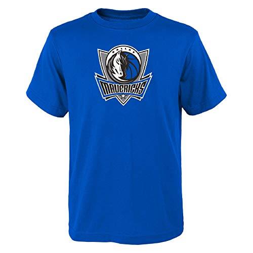 OuterStuff NBA Dallas Mavericks Youth Primary - Camiseta para niño, Colores de equipo., XL (18/20)