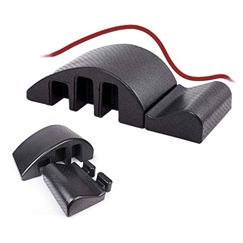 ZALIANG Pilates ARC Foam/Spine Corrector Barril/Yoga Masaje Mesa de Cama, Máquina de corrección de cifosis Pilates Reformer Científico Ajustar la Curva de la Columna Vertebral