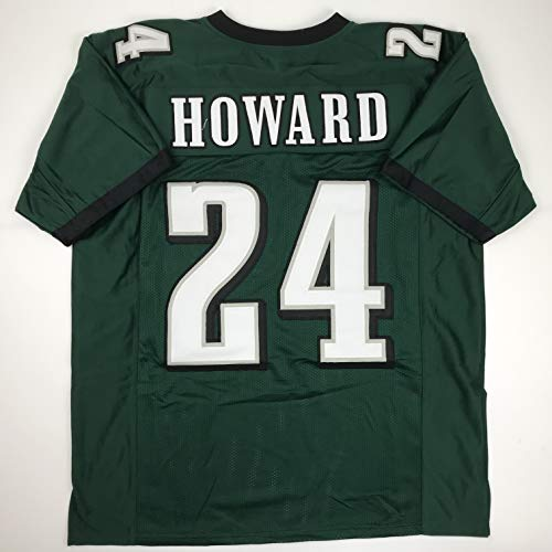 Unsigned Jordan Howard Philadelphia Green Custom Stitched Football Jersey Size Men's XL New No Brands/Logos
