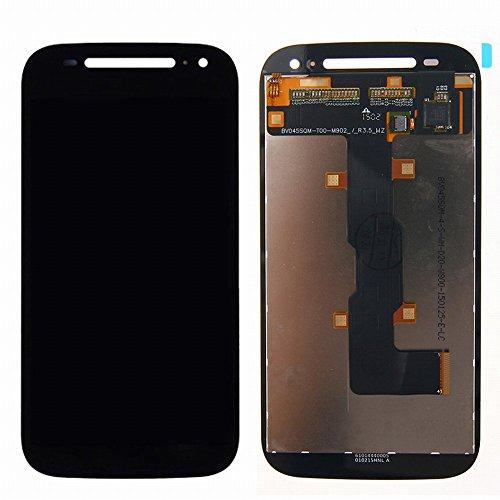 Motorola Moto E2 XT1505 XT1524 XT1527 XT1511 LCD Display Touchscreen Digitizer Glas Assembly Ersatzteile + Klebeband & Werkzeuge (schwarz)