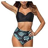 Traje de Baño Bikini Mujer 2021 Conjunto de Brasileños Sujetador Push-up Sexy Sólido para Mujer Bañador de Playa Sets Talla Grande