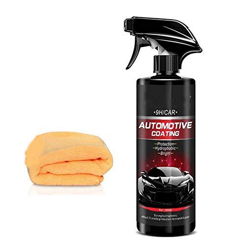 Sourwindp 2020 Nano Coating Technology Spray - 500ML, Vernice protettiva per la manutenzione idrofobica lucidante antigraffio, Rivestimento liquido in Ceramica per Auto