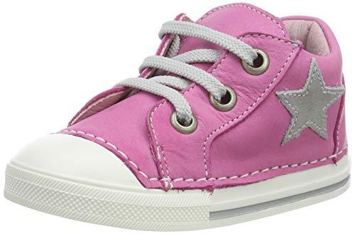 Däumling Baby-Mädchen Esther Sneaker, Pink (Seta Ciclamino 06), 23 EU