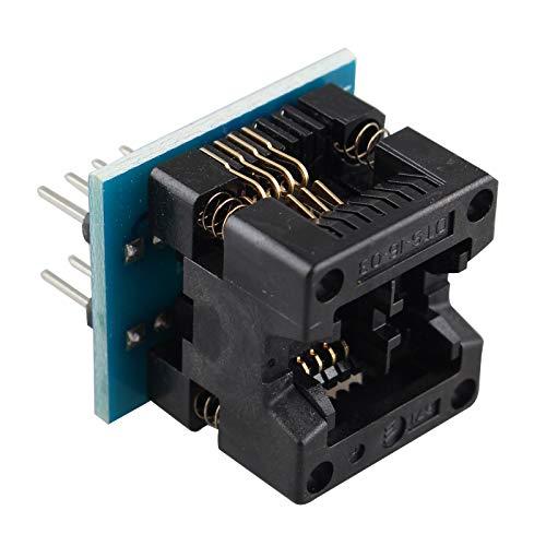 HALJIA Adaptador SOIC8 SOP8 a DIP8 IC OTS-16-03 para Eeprom 24XX 93XX