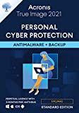 Acronis True Image 2021 – Cyber Protection personale Backup e antivirus integrato per 5 PC/Mac Dispositivi Android/iOS illimitati Standard Perpetual Edition