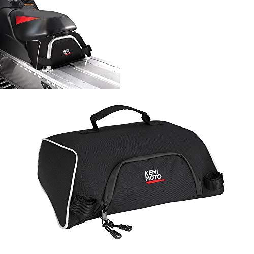 kemimoto Snowmobile UnderSeat Bag, Water-resistant Large Capacity Snowmobile Storage Bags Fits Polaris Indy 550 600 800 RMK 800 Pro RMK 600 Dragon 800, OEM 2876427