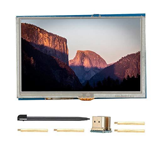 Pantalla táctil - Pantalla HD HDMI LCD de 5 Pulgadas para Monitor PI3 PI2/B +