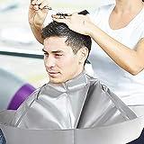 Cape de coupe de cheveux parapluie style coupe de cheveux cape coiffure coiffure cap salon de coiffure et coiffeurs maison utilisation