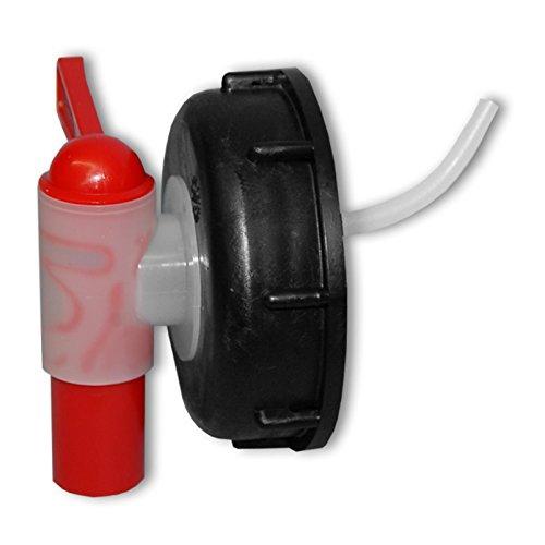 Wilai Grifo aeroflow para bidón con Apertura DIN 71, HDPE Calidad alimentaria (22045)