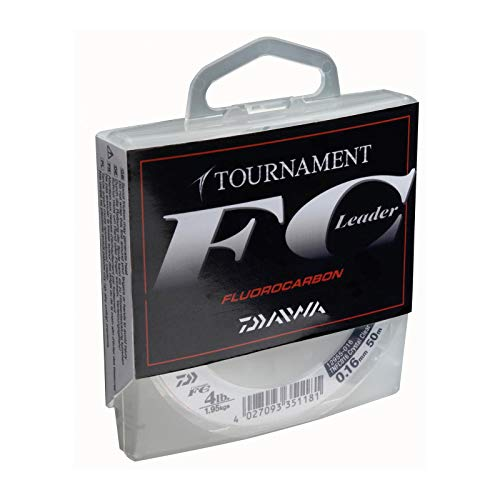 Daiwa Tournament FC 0.40mm 50m Fluorocarbon Schnur transparent