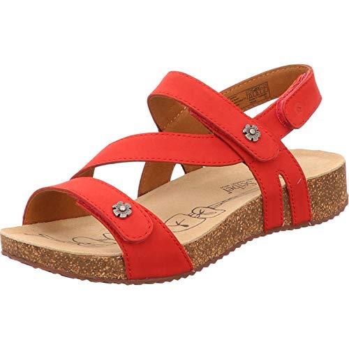 Josef Seibel Damen Tonga 53 Slipper, Red 78553 724 400