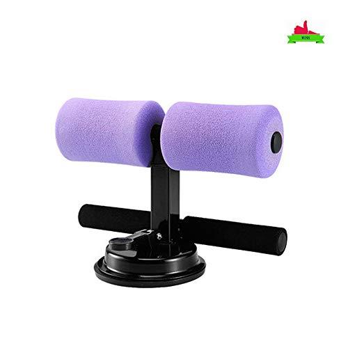 WUNH Tragbare Sitzstangen Zusatzzubehör Für Bauch- Und Bauchgeräte Von Männern Und Frauen Multifunktionale Selbstsaugende Heimtrainer,Purple