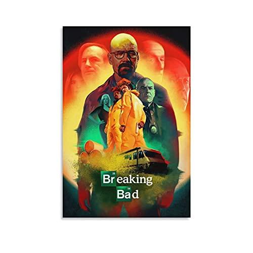 Znimo Breaking Bad - Poster da parete per soggiorno, 20 x 30 cm