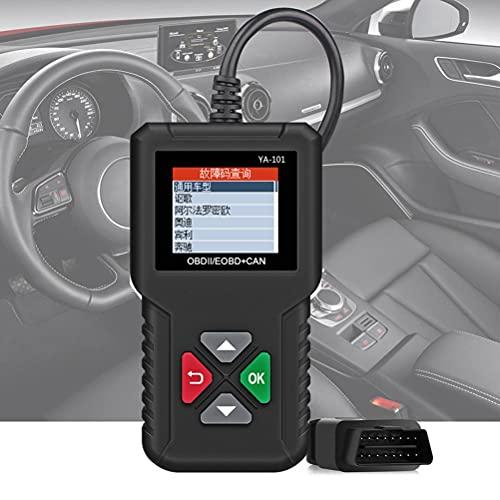 BSTQC AD410 mejorado OBD II lector de código de vehículo automotriz OBD2 escáner auto comprobación de la luz del motor herramienta de prueba de fallos del coche instrumento de diagnóstico