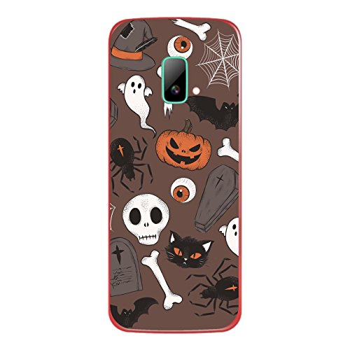 Disagu SF-sdi-4195_1210 Design Folie für Wiko riff Rückseite - Motiv Halloweenmuster 02