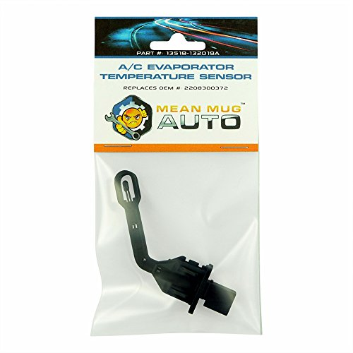 Mean Mug Auto 13518-132019A A/C Evaporator Temperature Sensor Switch - Compatible with Mercedes-Benz - Replaces OEM #: 2208300372, 2208300772, 351080401