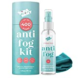 7. Anti Fog Spray for Glasses - Cloth Included - for Glasses, Goggles, Diving, Helmets, Swim Goggles - Anti Reflective, Anti Fog for Glasses | Prevents Fogging of Glass, Long Lasting Solution