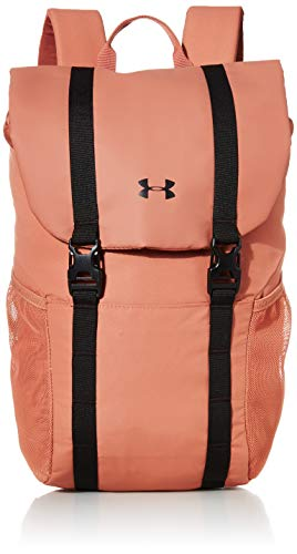 Under Armour Unisex Adults' Sportstyle Rucksack Backpack, Cedar Brown (226)/Black, One Size Fits All