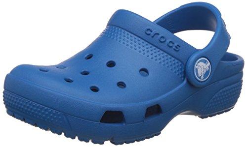crocs Kids Unisex Coast Ultramarine Clogs and Mules