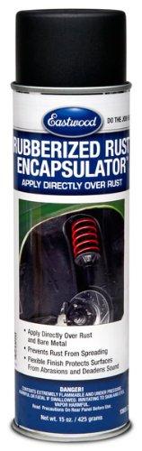 Eastwood Black Rubberized Rust Encapsulator 15 oz Aerosol Prevents...