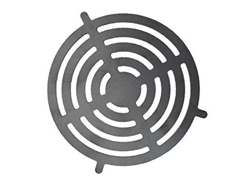 A. Weyck Tools Grill Einsatz Ø 20cm für Feuerplatte mit Halterung Grillrost Grilleinsatz BBQ Plancha 08