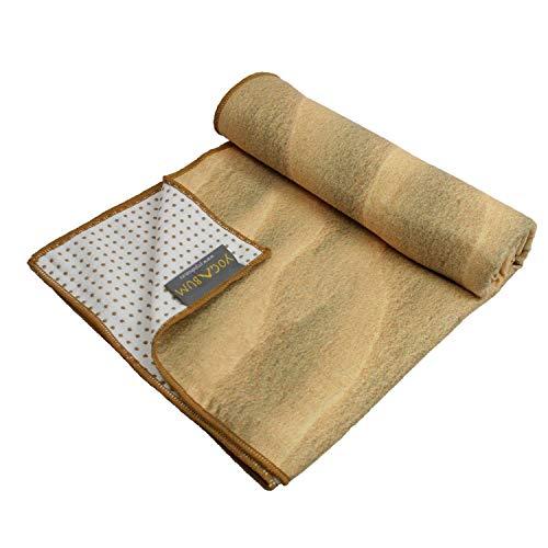 Yogabum la Collezione Natura Antiscivolo Asciugamani Yoga Mat (Sabbia)