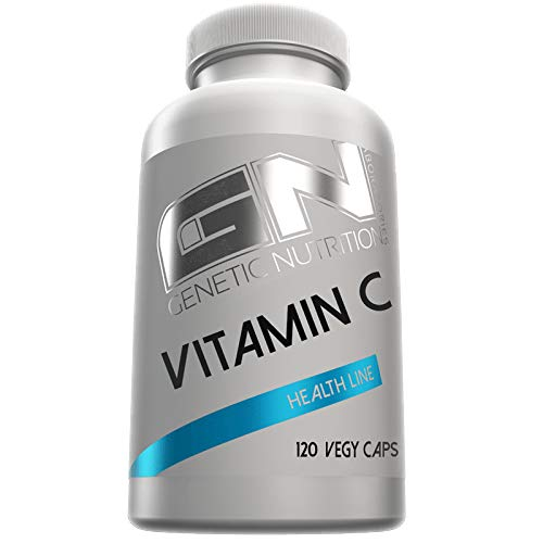 GN Laboratories Health Line Vitamin C Essentiell Wasserlöslich Gesundheit Immunsystem 120 Caps