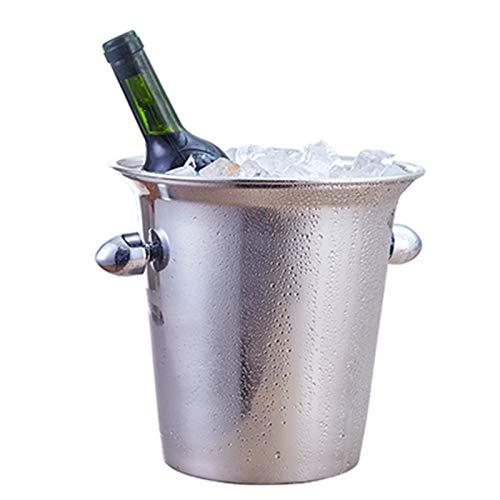 Decantador De Enfriador De Bolsa De Vino De Acero Inoxidable, Cubo De Hielo De Champán De Vino De Jugo, Enfriador De Cerveza De Bar De Restaurante De Banquete En Casa