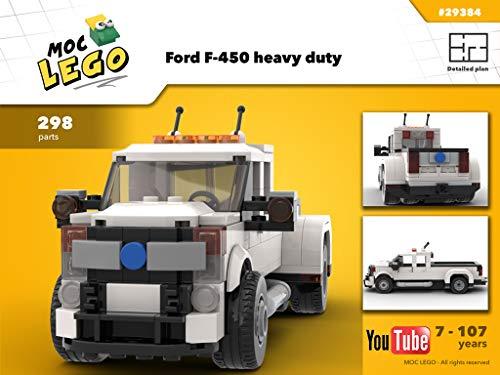 F-450 heavy duty truck (Instruction Only): MOC LEGO (English Edition)