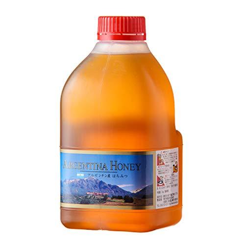 [熊手のはちみつ] アルゼンチン産 はちみつ 純粋蜂蜜 ( ポリ 2kg / 大容量 ) 無添加 100%純粋