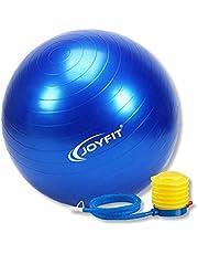 JoyFit Foam PVC Yoga Ball With Hand Pump