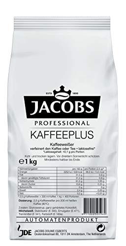 Jacobs Professional Kaffeeplus Instant Kaffeeweisser, laktosefrei, auf pflanzlicher Basis, 1000 g