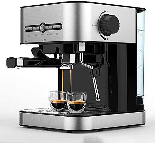 Koffiezetapparaat, roestvrij staal koffiezetapparaat Espresso 15 Bar druk Barista koffiemachine met Wasfles WKY