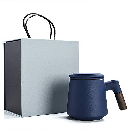 LBHDMZJK Tea and Water Separation Mug,Mother