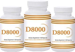 Sponsored Ad - Natural Living High Potency Vitamin D3 8000 IU 60 Capsules 3 Pack