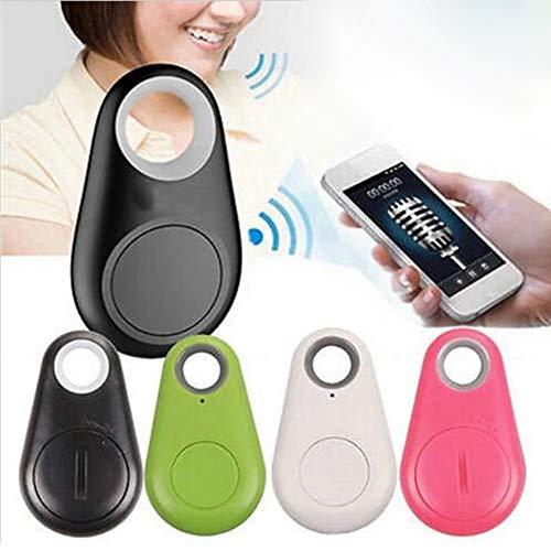 DMZH Mini Anti perdido Alarma Wallet Keyfinder Smart Tag Bluetooth Tracer GPS Localizador Llavero Pet per Pet Dog NIÑO ITAG Tracker Clave Finder