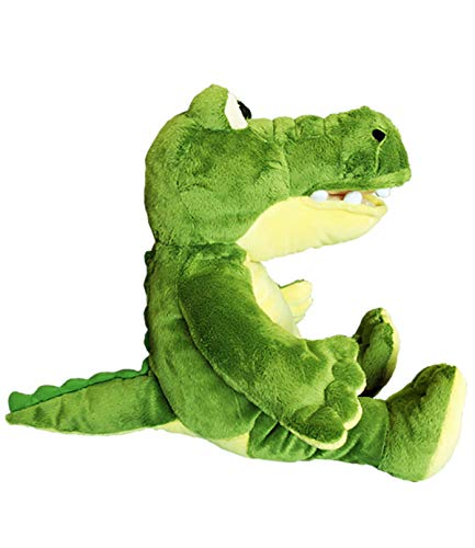 Cuddly Soft 16 inch Stuffed Yellow & Green Gator - We Stuff 'em...You Love 'em!