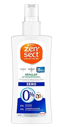 Zen'Sect Lotion Corporelle Répulsive 0% Moustiques & Moustiques Tigres – Spray 100 ml