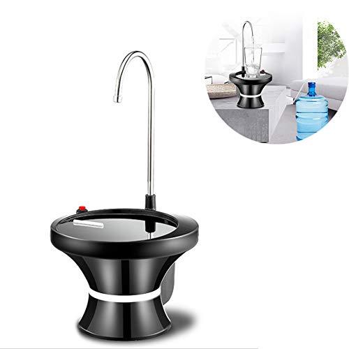 N / C Bomba de Agua Potable eléctrica portátil, Carga USB, Elegante y compacta, Alto Brillo, Resistencia a los arañazos y a la abrasión, Adecuada para el hogar y la Oficina