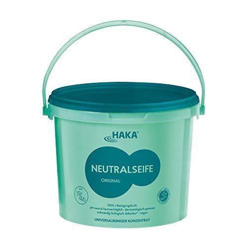 HAKA Neutralseife Pastös I 5 kg Neutralreiniger I Universalreiniger für Haushalt und Auto I PH-neutrales Reinigungsmittel I Biologisch abbaubar