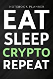 Notebook Planner Tron Crypto, Eat Sleep Tron Repeat nice: Wedding,High Performance,Homeschool,Meal,Schedule,Planning,Management,6x9 in