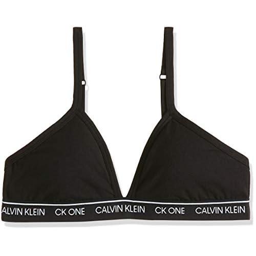 Calvin Klein Unlined Triangle Almohadillas y Rellenos de Sujetador para Mujer a buen precio